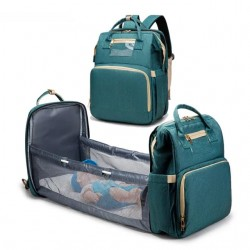 Baby diaper and carry cot backpack