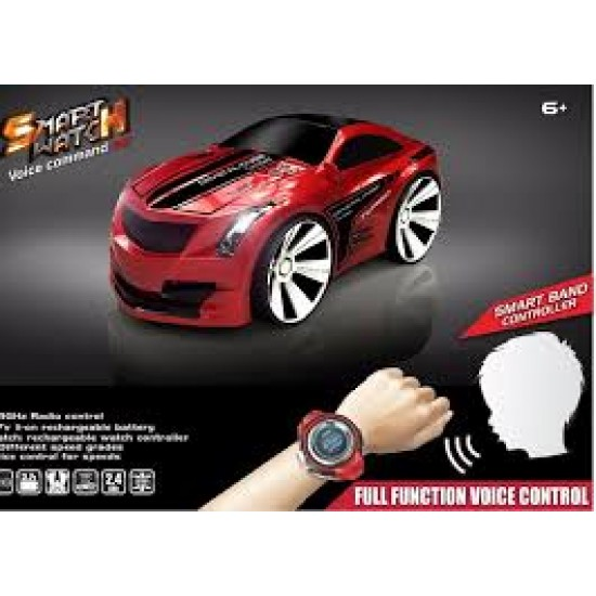Intelligent Voice Control RC Car With Smart Watch