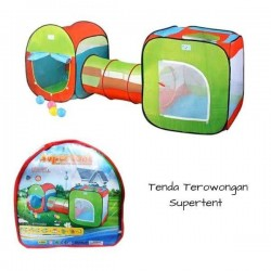 SHUTTLE KIDS PLAY TENT HOUSE WITH TUNNEL